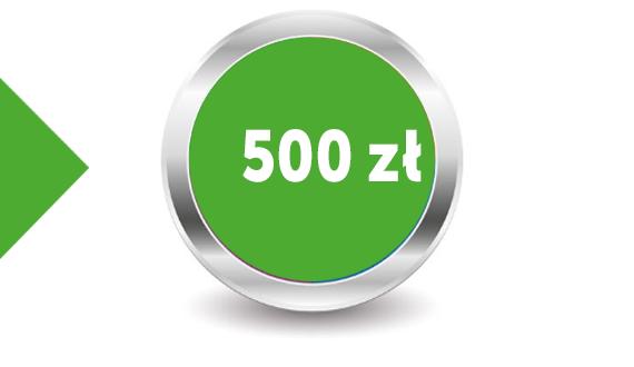 Pakiet 500 zł